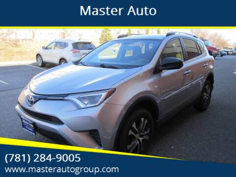 2016 Toyota RAV4 for sale at Master Auto in Revere MA