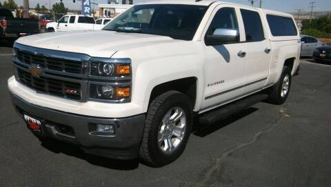 2014 Chevrolet Silverado 1500 for sale at Motor City Idaho in Pocatello ID