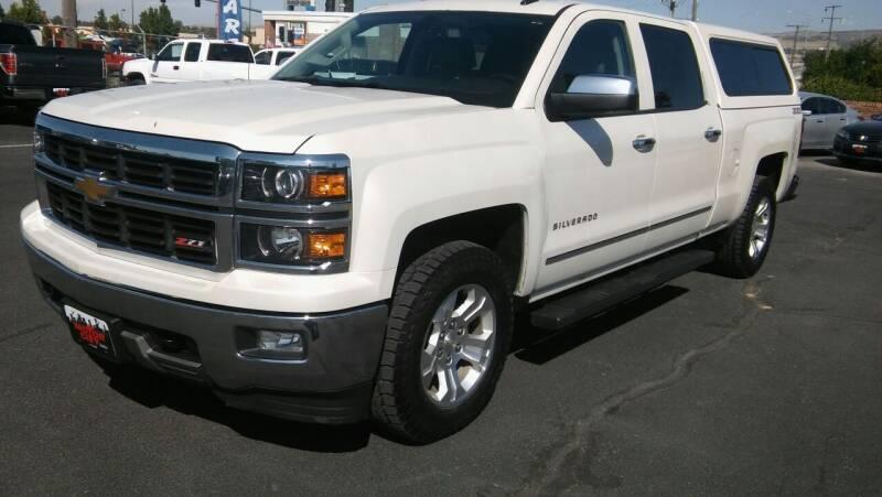 2014 Chevrolet Silverado 1500 for sale at Motor City Idaho in Pocatello ID