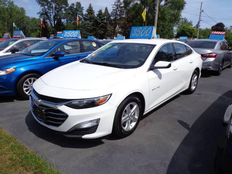 2019 Chevrolet Malibu for sale at North American Credit Inc. in Waukegan IL