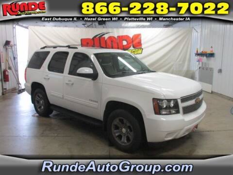 2013 Chevrolet Tahoe for sale at Runde Chevrolet in East Dubuque IL