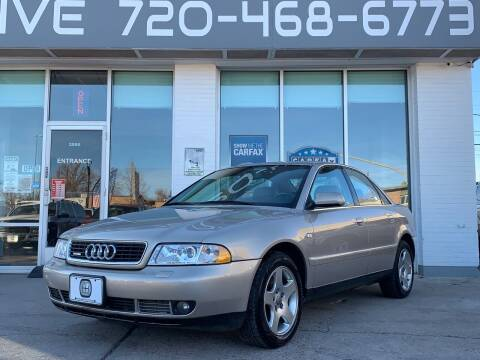 2001 Audi A4 for sale at Shift Automotive in Denver CO