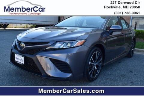 2019 Toyota Camry for sale at MemberCar in Rockville MD