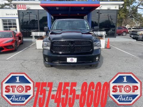 2014 RAM Ram Pickup 1500 for sale at 1 Stop Auto in Norfolk VA