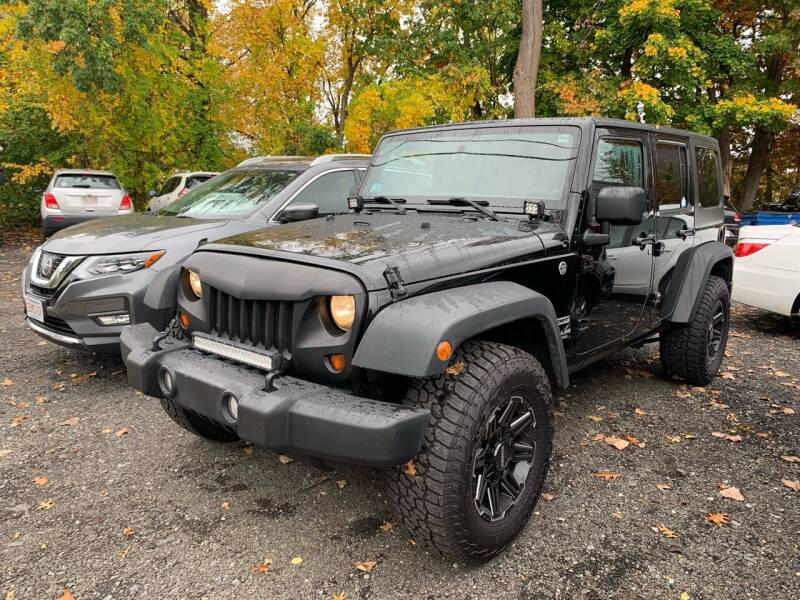 2013 Jeep Wrangler Unlimited for sale at Ludlow Auto Sales in Ludlow MA