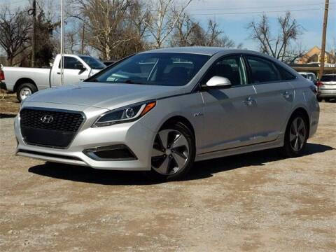 2016 Hyundai Sonata Hybrid for sale at Bryans Car Corner in Chickasha OK