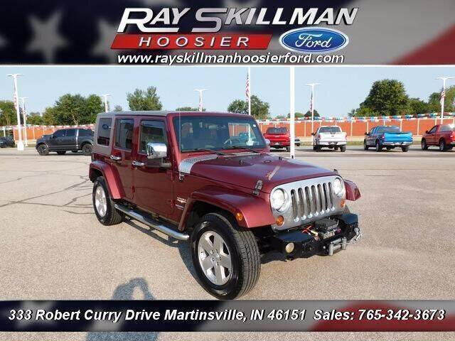 2009 Jeep Wrangler Unlimited for sale at Ray Skillman Hoosier Ford in Martinsville IN