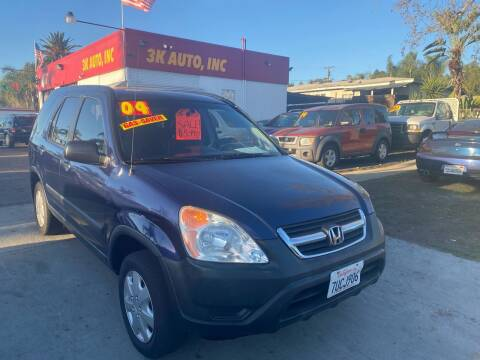 2004 Honda CR-V for sale at 3K Auto in Escondido CA