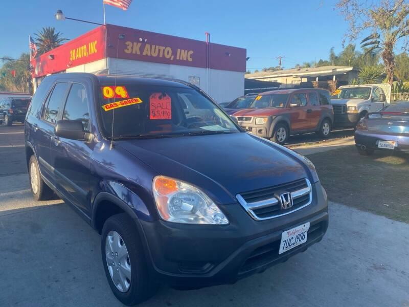 2004 Honda CR-V for sale at 3K Auto in Escondido CA
