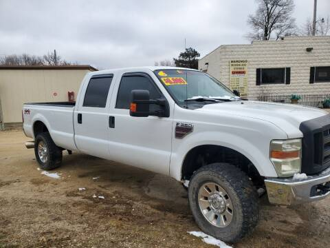 2008 Ford F-350 Super Duty for sale at AMAZING AUTO SALES in Marengo IL