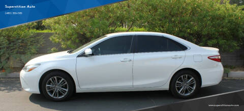 2016 Toyota Camry for sale at Superstition Auto in Mesa AZ