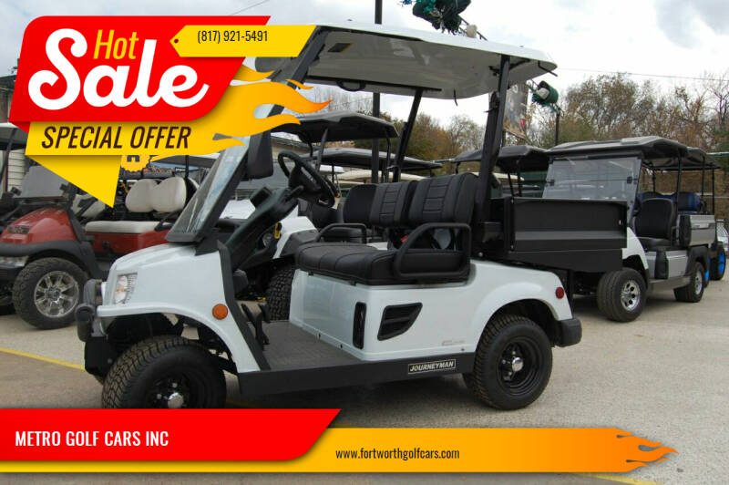 2020 Columbia Journeyman 2X LSV Elec Utility for sale at METRO GOLF CARS INC in Fort Worth TX