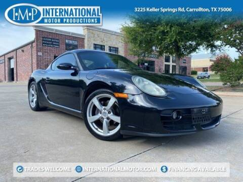 2008 Porsche Cayman for sale at International Motor Productions in Carrollton TX