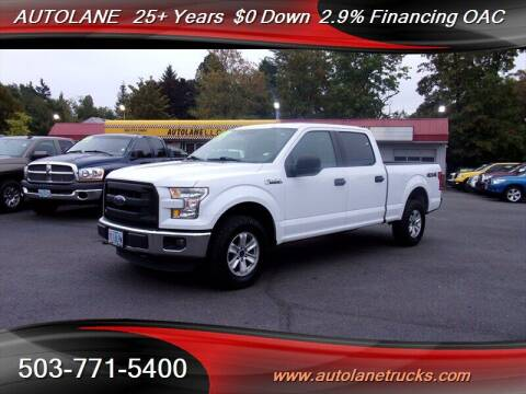 2015 Ford F-150 for sale at Auto Lane in Portland OR