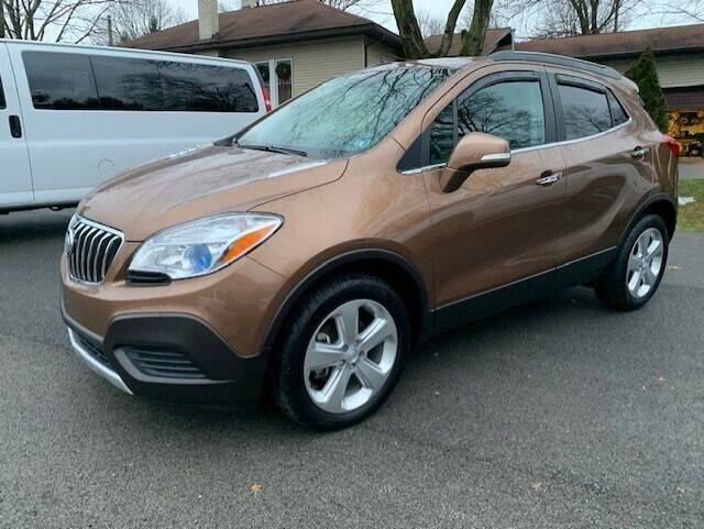 2016 Buick Encore for sale at SPINNEWEBER AUTO SALES INC in Butler PA