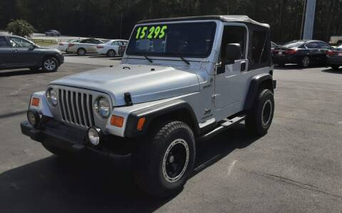 2005 Jeep Wrangler for sale at Mathews Used Cars, Inc. in Crawford GA