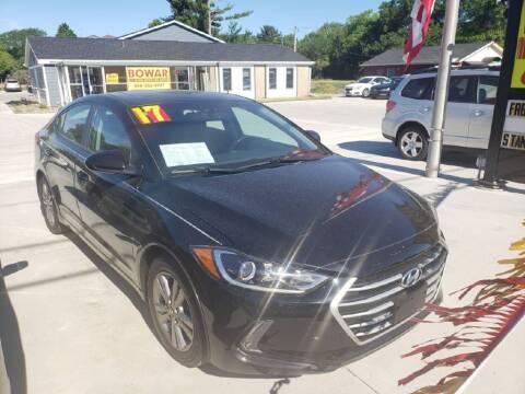 2017 Hyundai Elantra for sale at Bowar & Son Auto LLC in Janesville WI