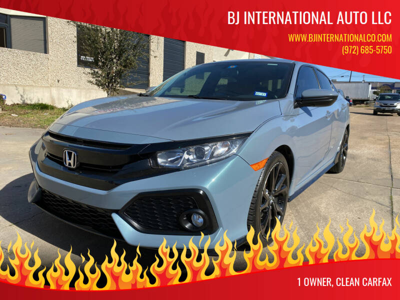 2017 Honda Civic for sale at BJ International Auto LLC in Dallas TX