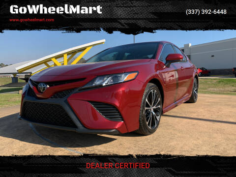 2018 Toyota Camry for sale at GOWHEELMART in Leesville LA