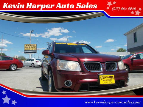 2008 Pontiac Torrent for sale at Kevin Harper Auto Sales in Mount Zion IL