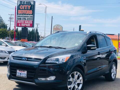 2014 Ford Escape for sale at City Motors in Hayward CA