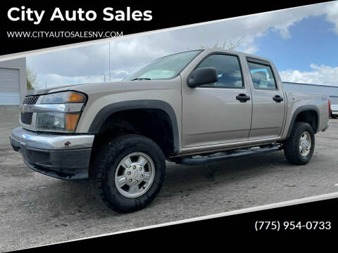 2006 Chevrolet Colorado for sale at City Auto Sales in Sparks NV