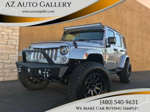2015 Jeep Wrangler Unlimited for sale at AZ Auto Gallery in Mesa AZ