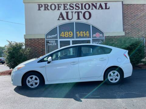 2010 Toyota Prius for sale at Professional Auto Sales & Service in Fort Wayne IN