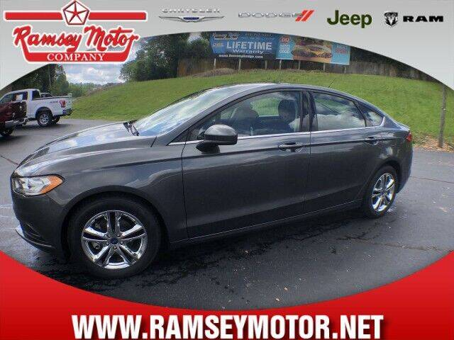 2018 Ford Fusion for sale at RAMSEY MOTOR CO in Harrison AR