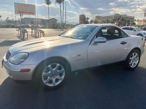 2000 Mercedes-Benz SLK for sale at Charlie Cheap Car in Las Vegas NV