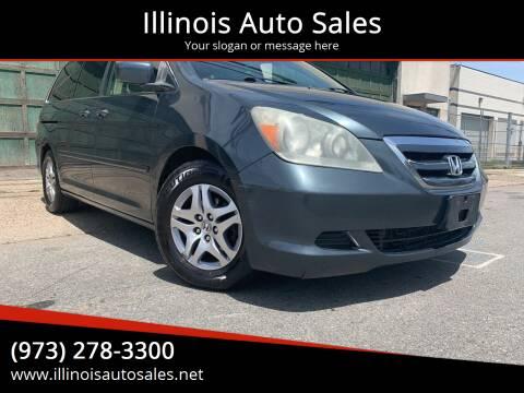 2006 Honda Odyssey for sale at Illinois Auto Sales in Paterson NJ