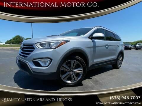2013 Hyundai Santa Fe for sale at International Motor Co. in St. Charles MO