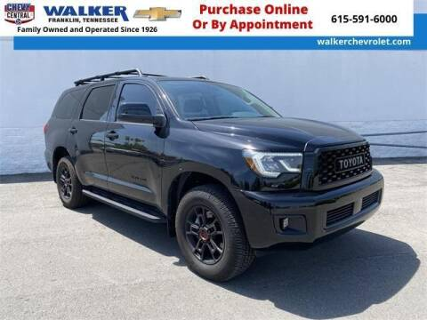 2020 Toyota Sequoia for sale at WALKER CHEVROLET in Franklin TN