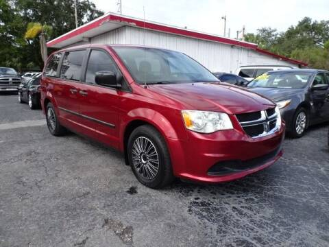 2014 Dodge Grand Caravan for sale at DONNY MILLS AUTO SALES in Largo FL