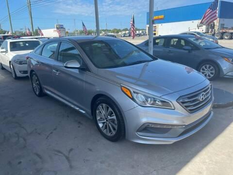 2015 Hyundai Sonata for sale at P J Auto Trading Inc in Orlando FL