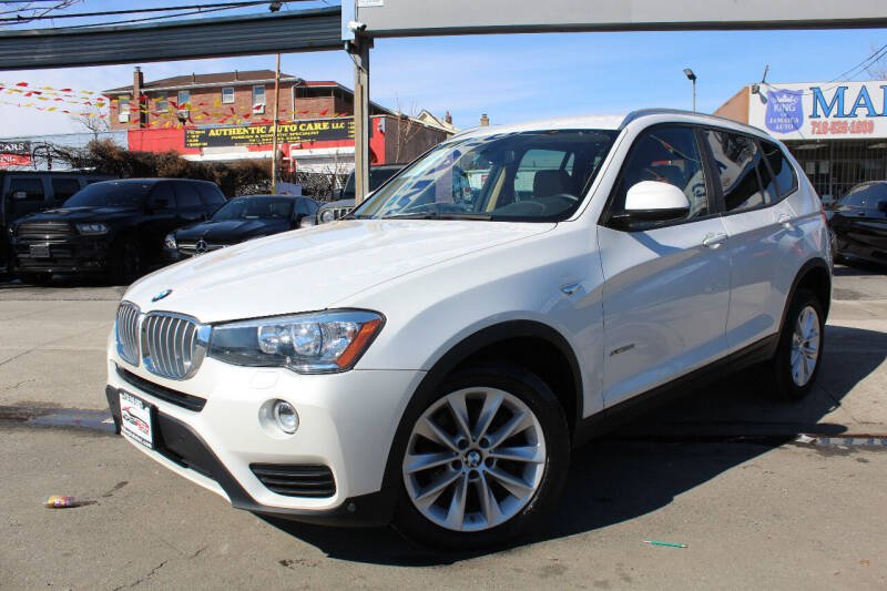 2017 BMW X3 for sale at MIKEY AUTO INC in Hollis NY
