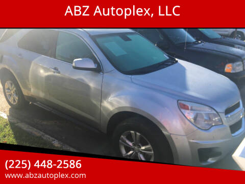 2013 Chevrolet Equinox for sale at ABZ Autoplex, LLC in Baton Rouge LA