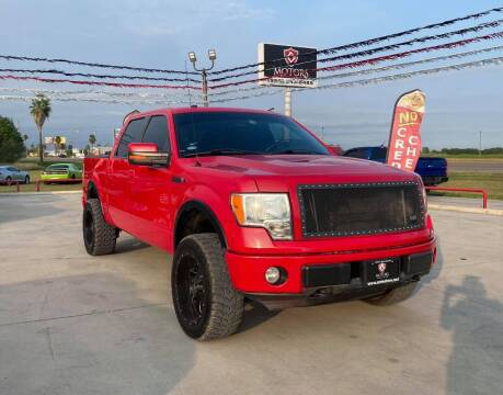 2010 Ford F-150 for sale at A & V MOTORS in Hidalgo TX