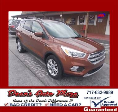 2017 Ford Escape for sale at Dean's Auto Plaza in Hanover PA