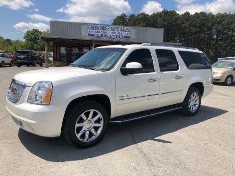 2011 GMC Yukon XL for sale at Greenbrier Auto Sales in Greenbrier AR
