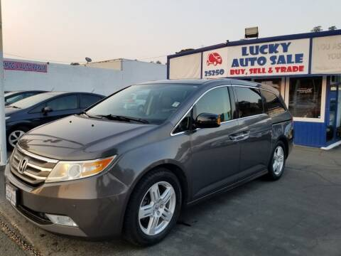 2013 Honda Odyssey for sale at Lucky Auto Sale in Hayward CA