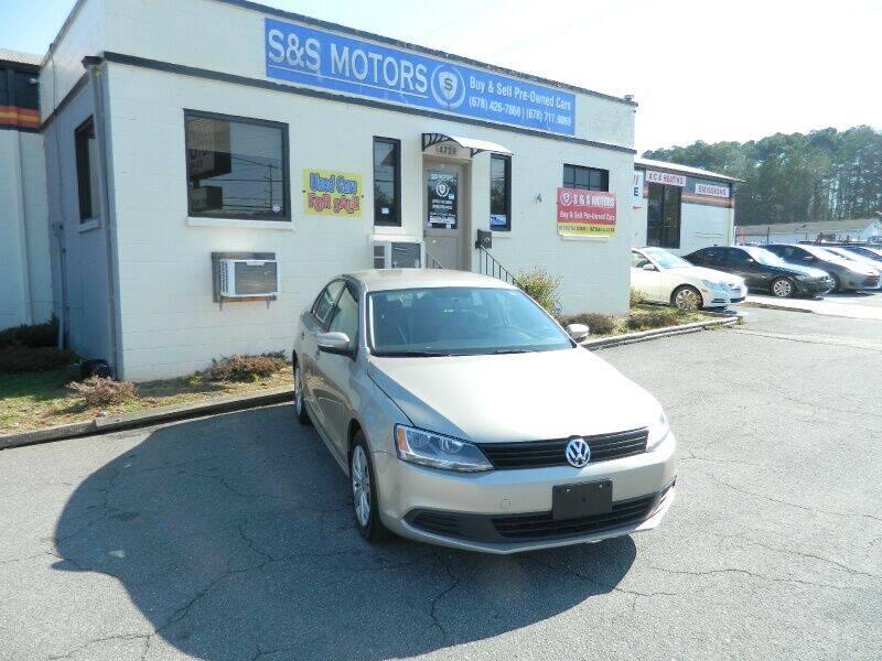 2014 Volkswagen Jetta for sale at S & S Motors in Marietta GA