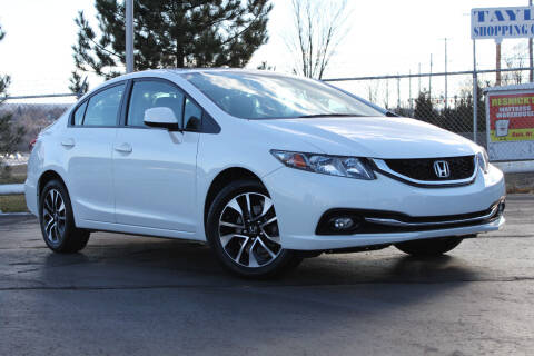 2013 Honda Civic for sale at Dan Paroby Auto Sales in Scranton PA