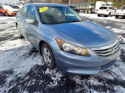 2012 Honda Accord for sale at Burgess Motors Inc in Michigan City IN
