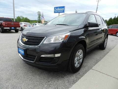 2015 Chevrolet Traverse for sale at Leitheiser Car Company in West Bend WI