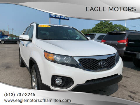 2012 Kia Sorento for sale at Eagle Motors in Hamilton OH