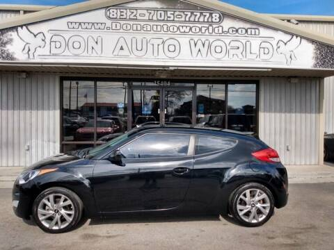 2017 Hyundai Veloster for sale at Don Auto World in Houston TX