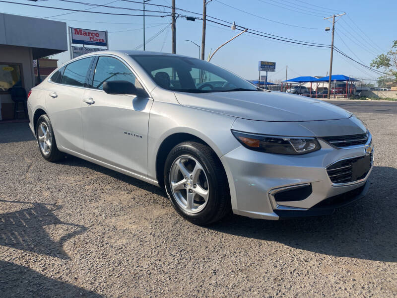 2018 Chevrolet Malibu for sale at BID & WIN MOTORS in El Paso TX