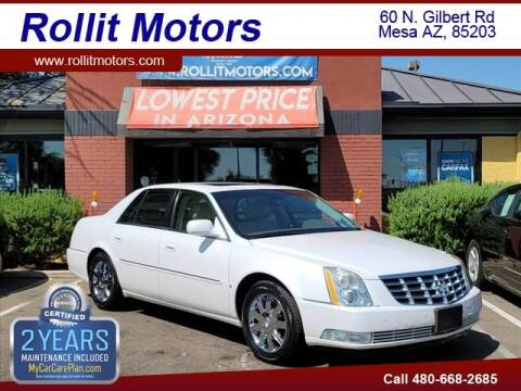 2006 Cadillac DTS for sale at Rollit Motors in Mesa AZ