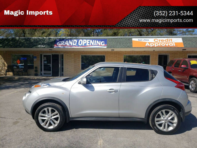 2014 Nissan JUKE for sale at Magic Imports in Melrose FL